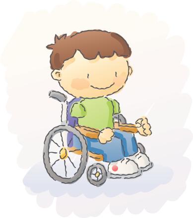 scribbles: wheelchair