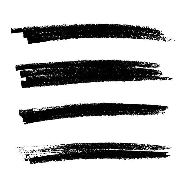 scribblesmears-26 - uderzać stock illustrations