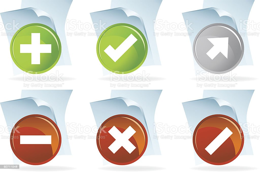 Scripting Document Icons royalty-free scripting document icons stock vector art & more images of cancellation