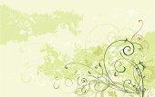 Scroll Art Background