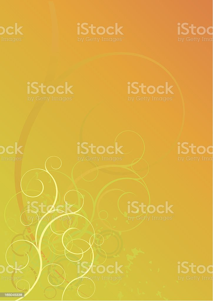Scroll background royalty-free stock vector art
