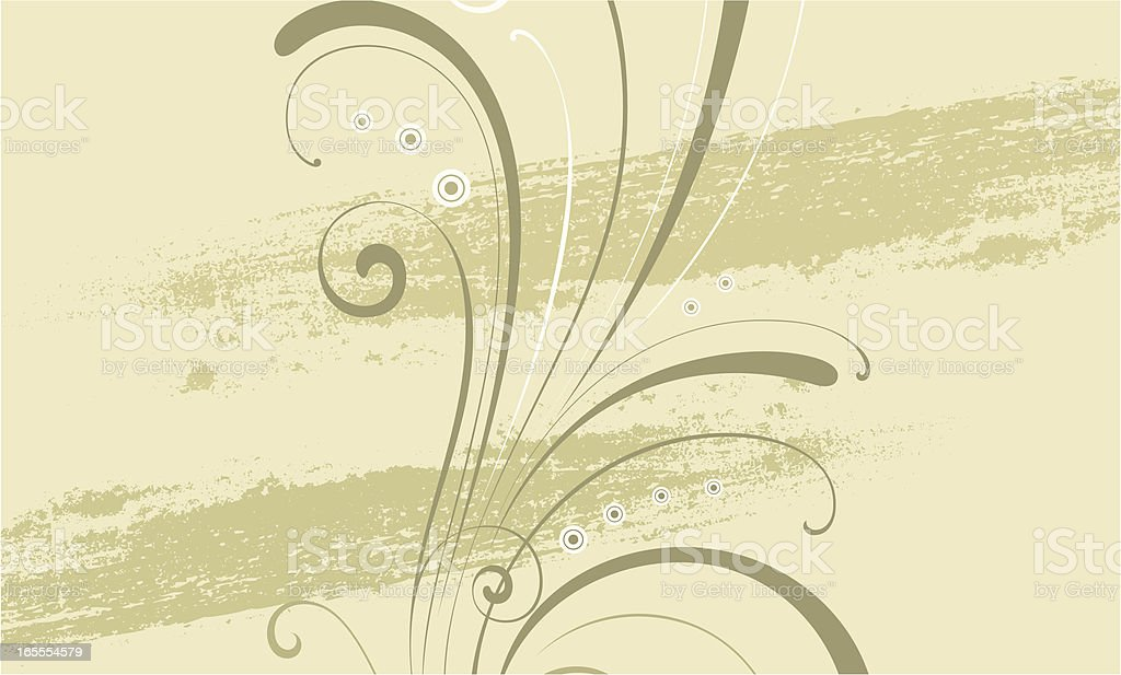 Scroll Background vector art illustration
