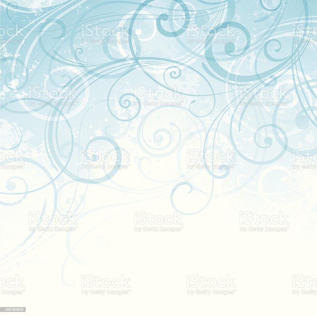 Scroll Background vector art illustration