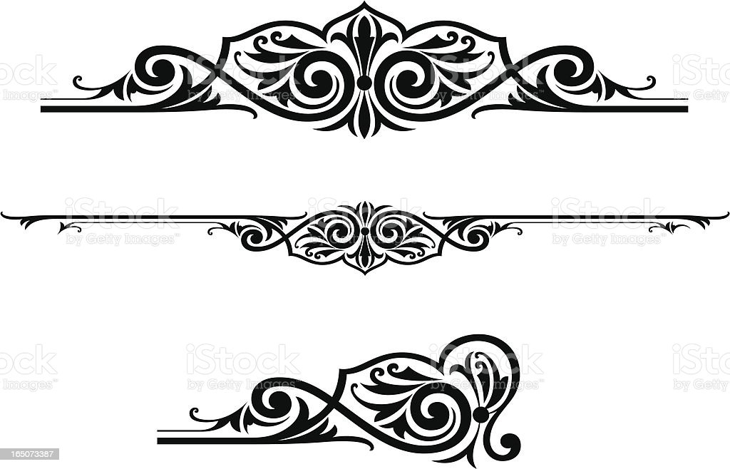 Scroll Centres royalty-free scroll centres stock vector art & more images of abstract