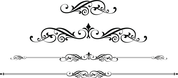Scroll Designs Stock Illustration - Download Image Now ...