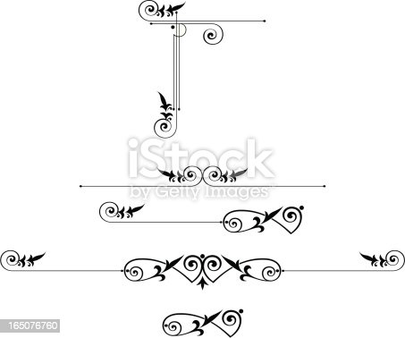 Scroll Elements and Corner Design