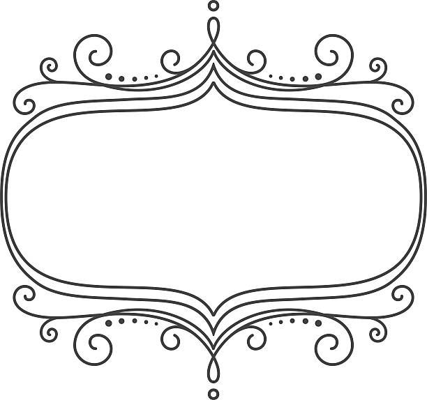 Royalty Free Ellipse Frame Rubber Stamp Scroll Shape Clip Art ...