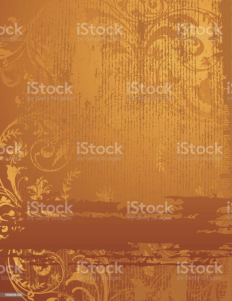 Scroll Grunge Banner royalty-free stock vector art
