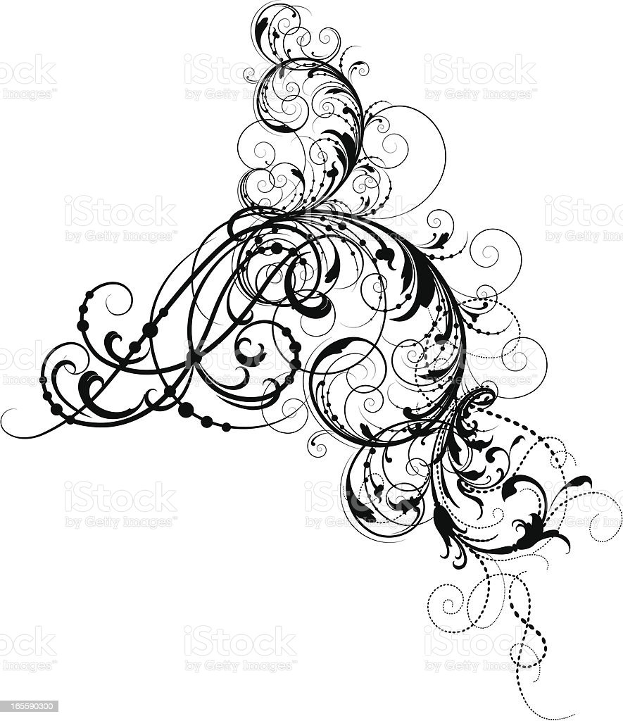 scroll morphs stock vector art more images of angle 165590300 istock