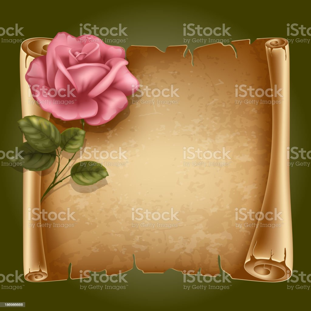 Scroll paper royalty-free scroll paper stock vector art & more images of ancient