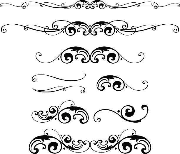 Illustrazioni ghirigori istock for Cenefas para dibujar