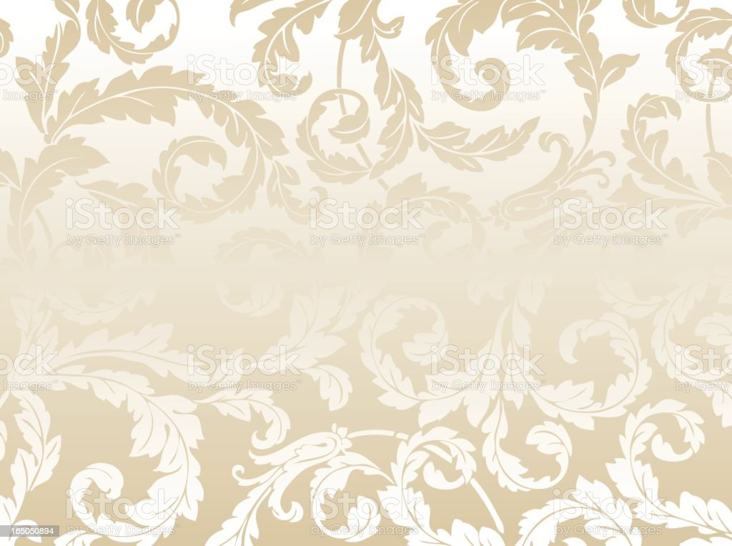 Scroll pattern background royalty-free stock vector art