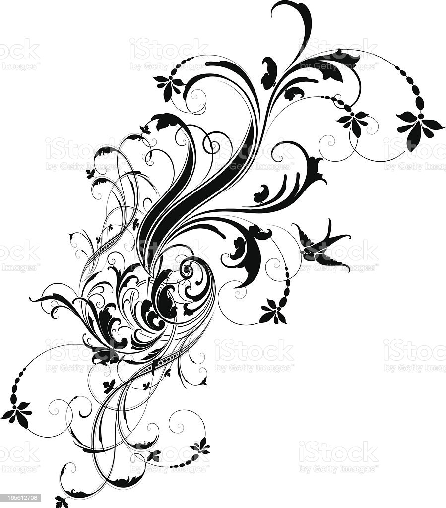 Scroll Transformation Stock Vector Art & More Images of Angle - iStock