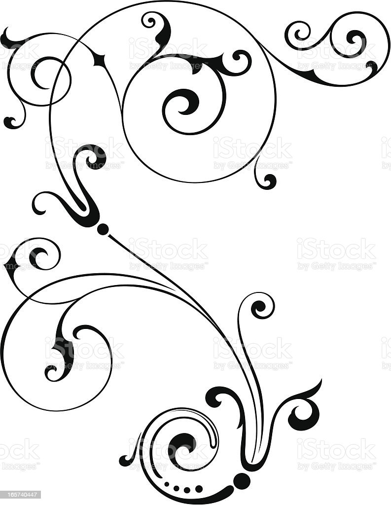 Scroll royalty-free stock vector art