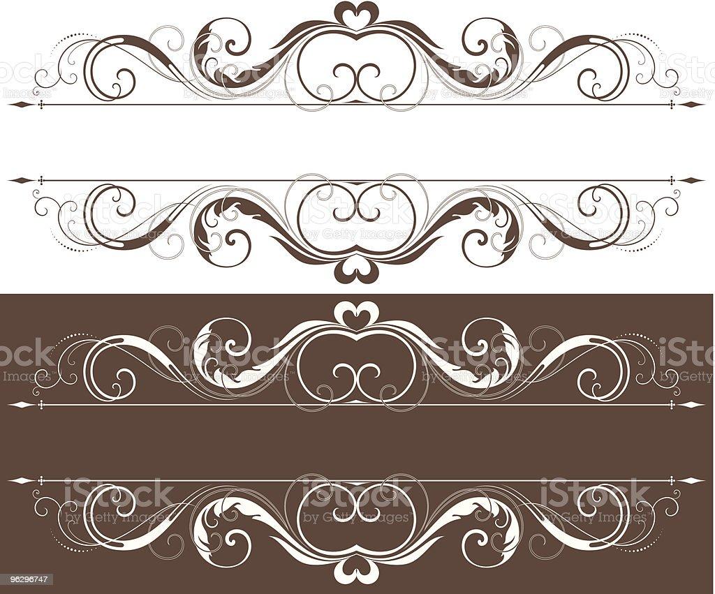 scroll_design royalty-free stock vector art