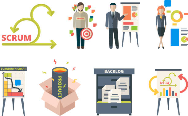 Scrum Illustrations, Royalty-Free Vector Graphics & Clip