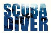 Scuba Diver - Type Design