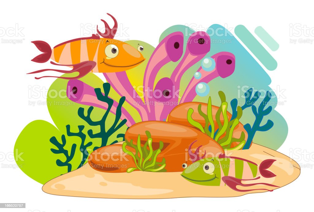 Sea animals royalty-free sea animals stock vector art & more images of animal