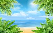 istock sea beach and tropical bushes 969845328