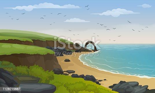 Scotland's coastline.