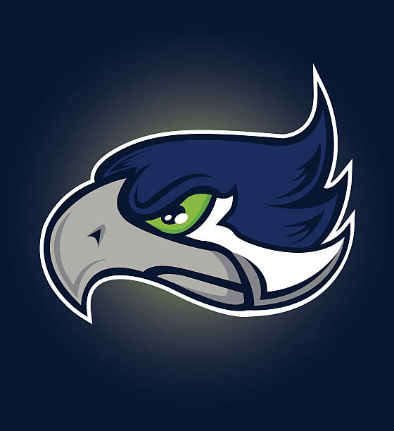 sea hawk sports mascot - cardinal mascot stock illustrations, clip art, cartoons, & icons