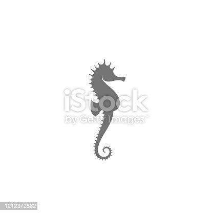 istock Sea horse. Vector illustration 1212372862