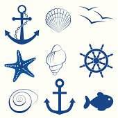 Sea icon collection