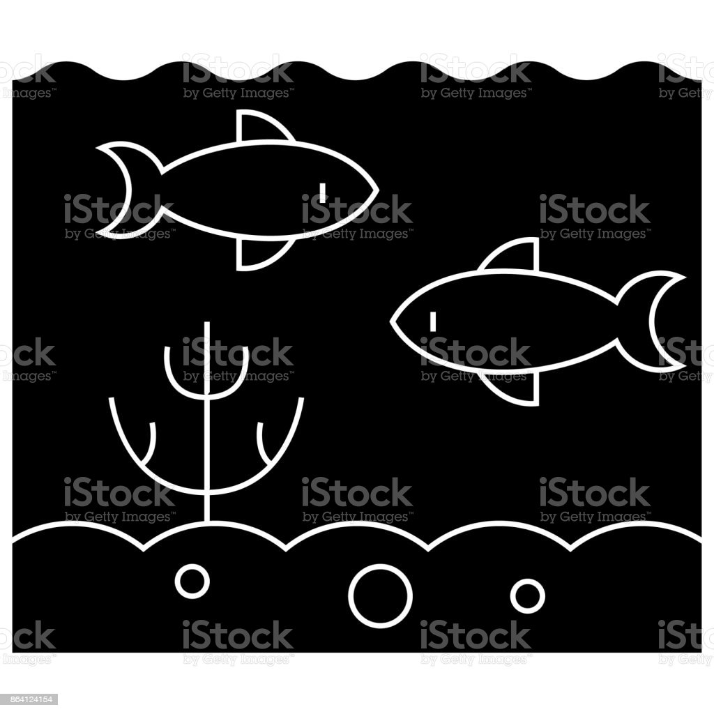 sea inside  icon, vector illustration, sign on isolated background royalty-free sea inside icon vector illustration sign on isolated background stock vector art & more images of abstract
