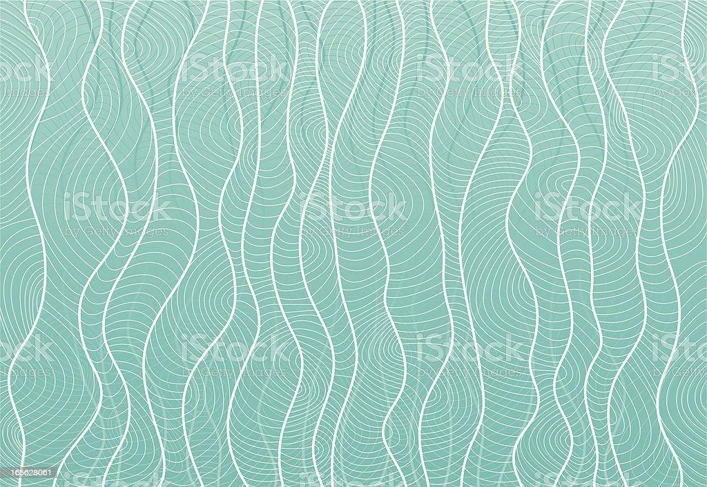 Sargazo al mar - ilustración de arte vectorial