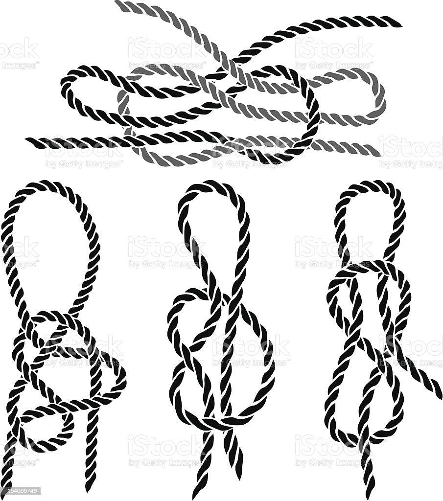 Sea knot set stencil