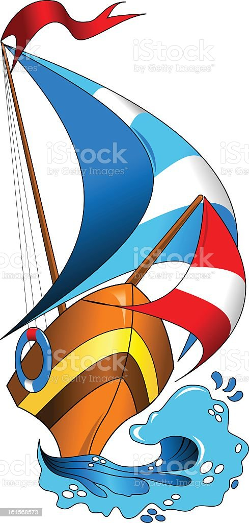 sea regatta royalty-free stock vector art
