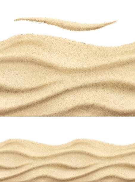 Sea sand, seamless vector pattern Sea sand, seamless vector pattern sand stock illustrations