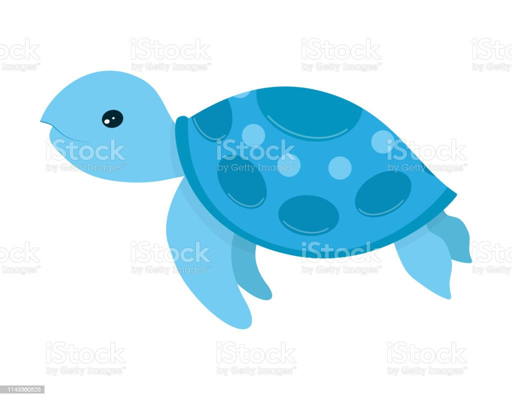 Sea Turtle Cartoon Stock Illustration Download Image Now Istock