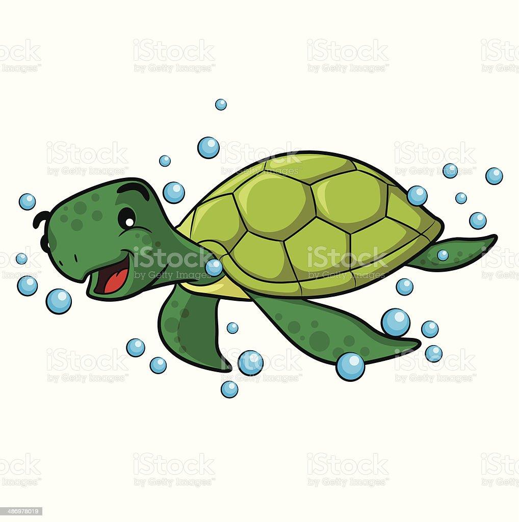 Sea Turtle Cartoon Stock Illustration Download Image Now Istock