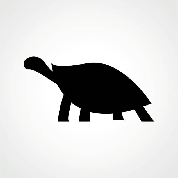 sea turtle icon. ocean animal - turtle stock illustrations