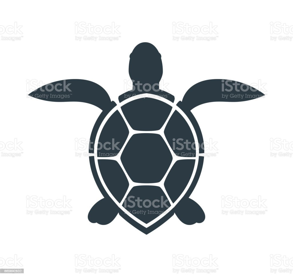 Sea turtle icon.