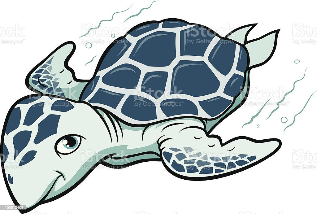 Sea Turtle Stock Illustration Download Image Now Istock