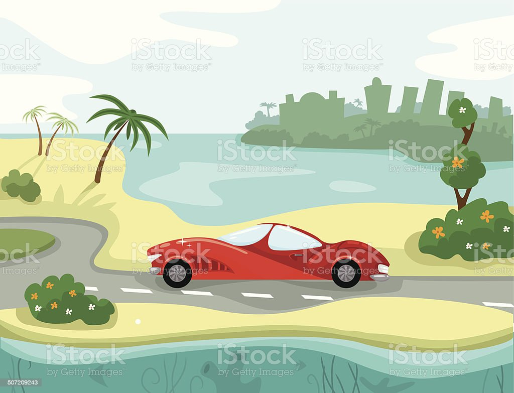 Sea vacation royalty-free sea vacation stock vector art & more images of backgrounds