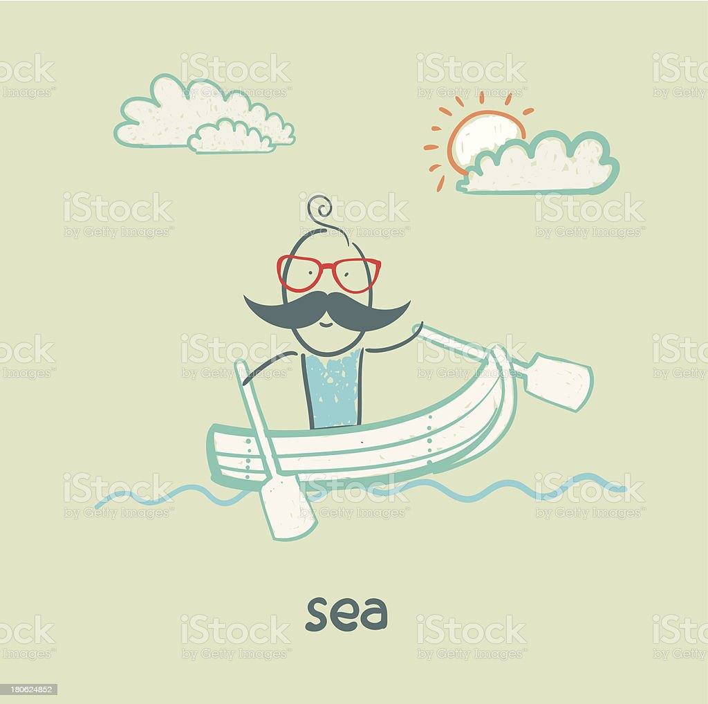 sea royalty-free stock vector art