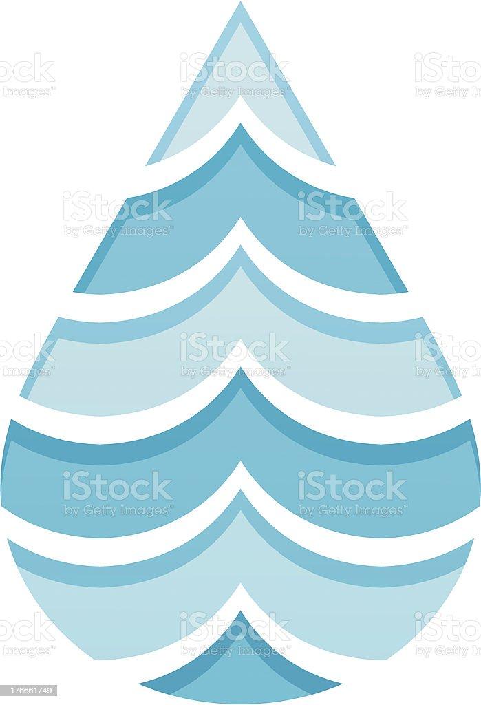 Sea water drop royalty-free sea water drop stock vector art & more images of blue