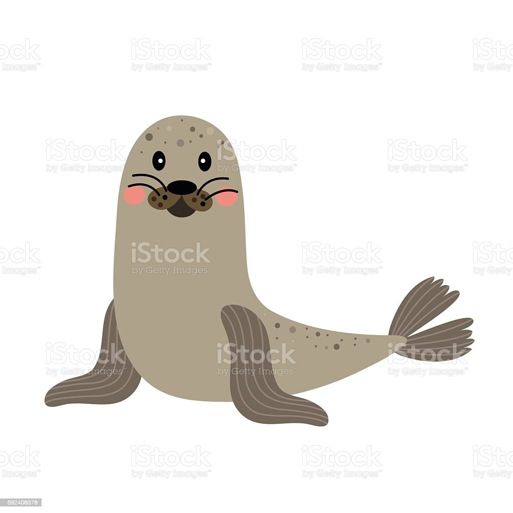 royalty free sea lion clip art vector images illustrations istock rh istockphoto com cartoon sea life clipart cartoon sea life images