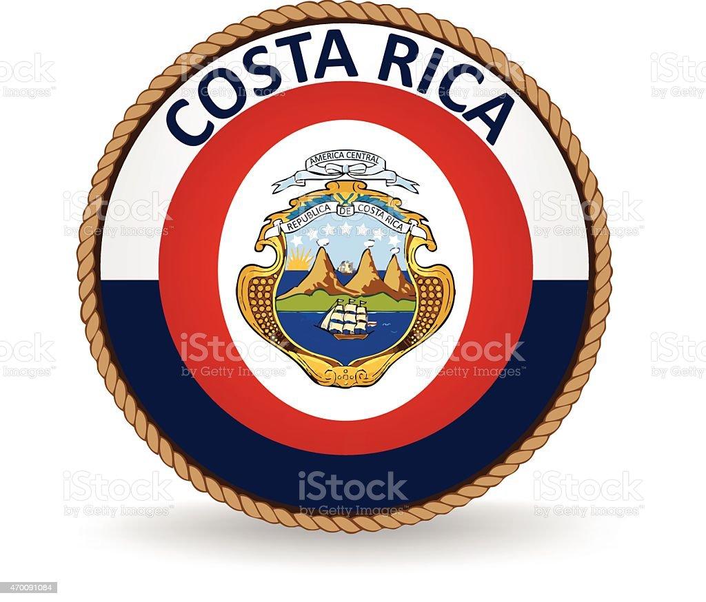 Junta de Costa Rica - ilustración de arte vectorial