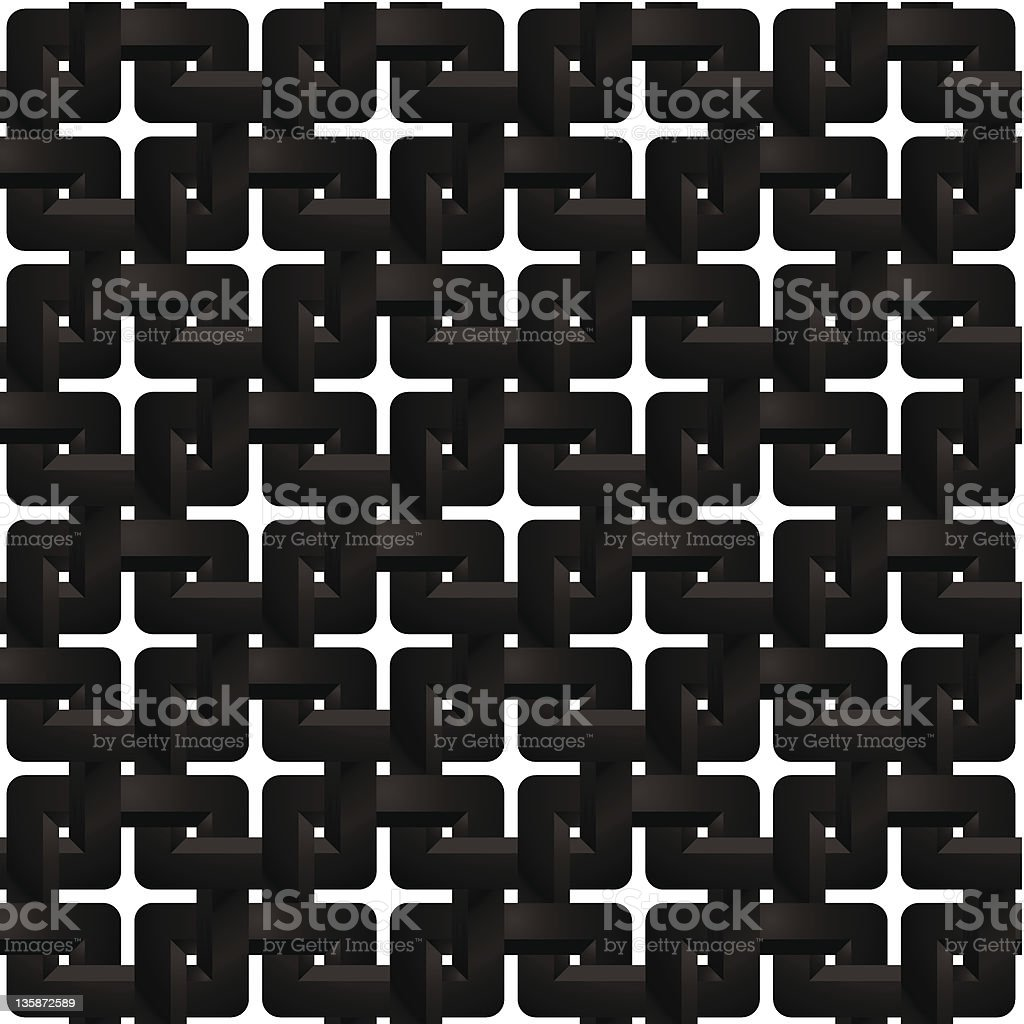 Seamless 3d geometric squares pattern. royalty-free stock vector art