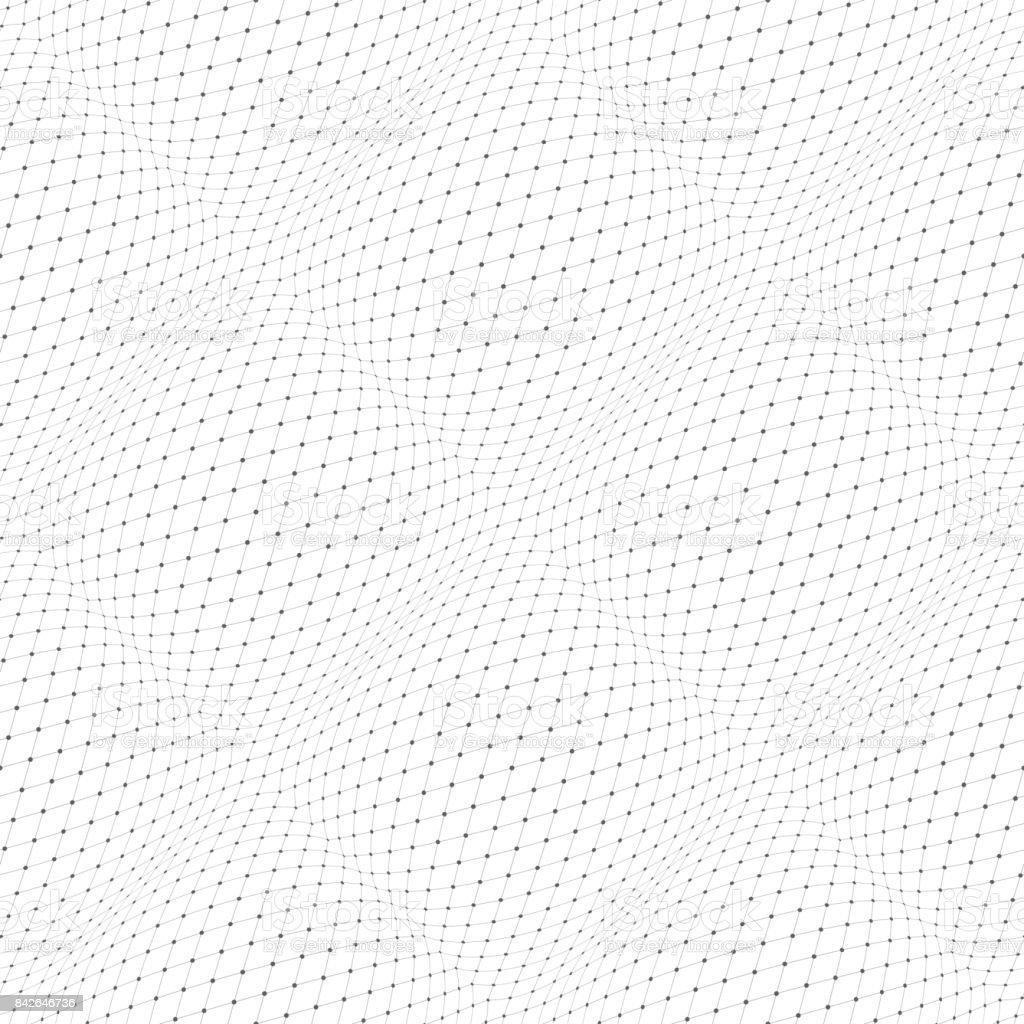 Seamless 3d pattern. vector art illustration