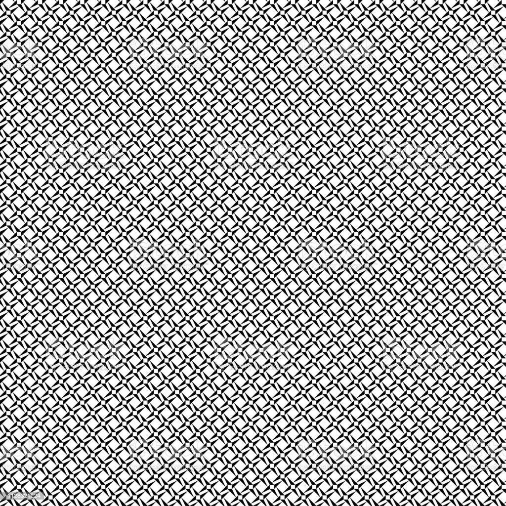 シームレスな抽象的な背景パターン 黒い壁紙黒と白のベクトル図 ます