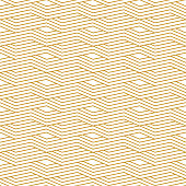 Seamless abstract background pattern - gold wallpaper - vector Illustration