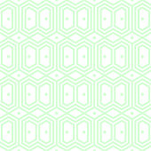 Seamless abstract background pattern - green wallpaper - vector Illustration