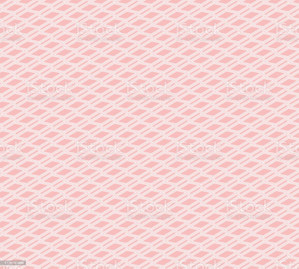 Seamless Abstract Background Pattern Pink Wallpaper Vector