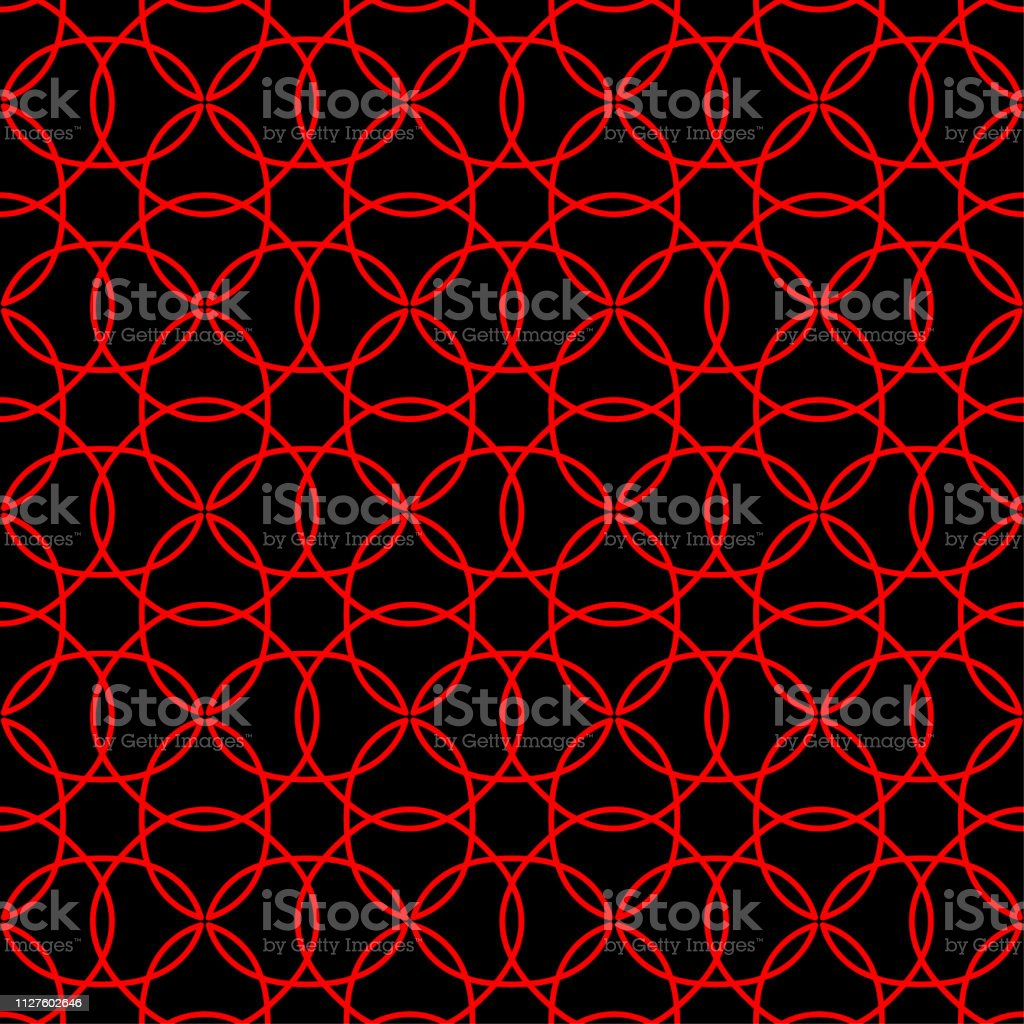 seamless abstract background pattern red black wallpaper vector vector id1127602646