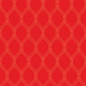 Seamless abstract background pattern - red wallpaper - vector Illustration